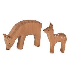 baby forest animal in wooden figures – Nova Natural Toys & Crafts