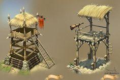 Two towers by Jonik9i.deviantart.com on @deviantART