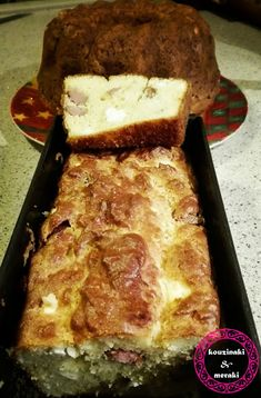 Kouzinaki & Meraki  Αφρατο αλμυρο κεικ θεικο! Meraki, Banana Bread, Muffins, Pork, Cup Cakes, Desserts, Kale Stir Fry, Tailgate Desserts, Muffin