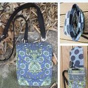 Zip & Clip  Bag - via @Craftsy