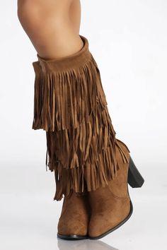 Bottes camel simli cuir pas cher et sexy