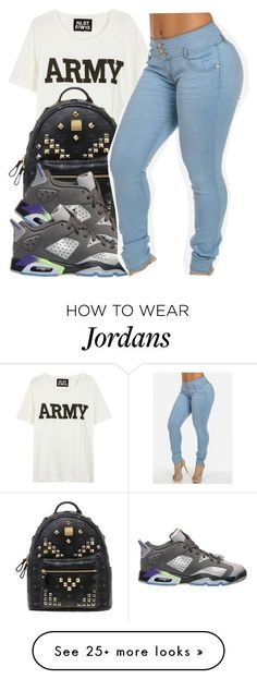 """""""~ Kiara"""" by the-real-queens on Polyvore featuring NLST, MCM and Retrò"""