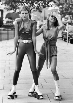 London fashion in the 1970s.