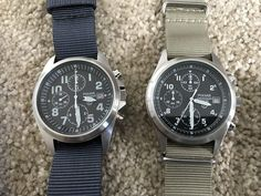 FS: Rare Pulsar Gen 1 & Gen 2 RAF Military Issued Chronographs Watches + Straps REDUCED - myWatchMart