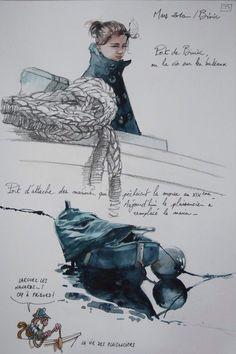 Une Bretagne par les Contours sketchbook by Le Blog de Yal