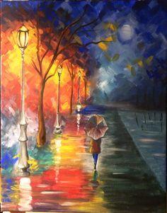 Dipinto su tela - pittura acrilica, Paint on Canvas acrylic painting