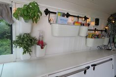 our alternative route vw t4 van conversion wall storage