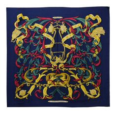 fe87e546 Gorgeous Hermes Silk Scarf | From a collection of rare vintage scarves at  https:/