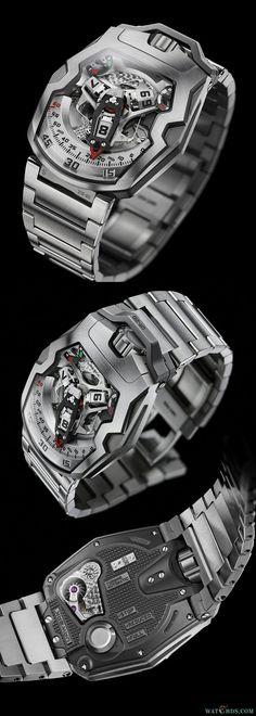 "【watchds.com】URWERK UR-210S ""Full Metal Jacket"" - 机械、石英表 - 钟表资讯网 - watch design"