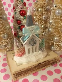 Excited to share the latest addition to my #etsy shop:  #christmas #christmasputzhouse #putzhouse