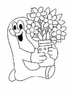 16 The Mole printable coloring pages for kids. Find on coloring-book thousands of coloring pages.
