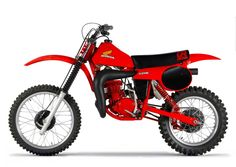 For part two of our walk down Honda history lane, we are going to take a look back at the decade that really solidified Honda's position as the dominant player in American motocross. Honda Dirt Bike, Motorcycle Dirt Bike, Honda Bikes, Scrambler Motorcycle, Honda S, Honda Motorcycles, Cars And Motorcycles, Mx Bikes, Cool Bikes