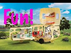Calico Critters Caravan Family Camper Review