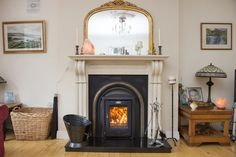 With the same great heating ability as our current Cara Insert stove, Stanley have brought you the perfect solution for people who have oval fireplaces.