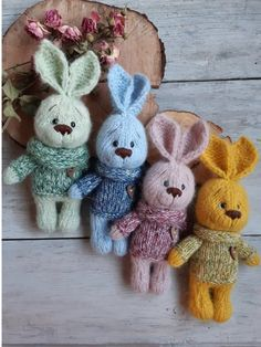 The Effective Pictures We Offer You About crochet toys car A quality picture can tell you many things. You can find the most beautiful pictures that can be presented to you about crochet toys unicorn Knitted Dolls, Crochet Toys, Knitting Bear, Baby Stuffed Animals, Blue Bunny, Rabbit Toys, Bunny Rabbit, Handmade Toys, Handmade Ideas