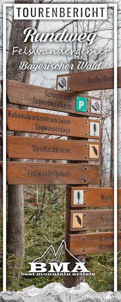 Rundwanderung im Felswandergebiet zur großen Kanzel   Nationalpark Bayerischer Wald   GPS-Track