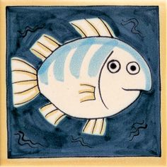 Fish tile from Sealife range
