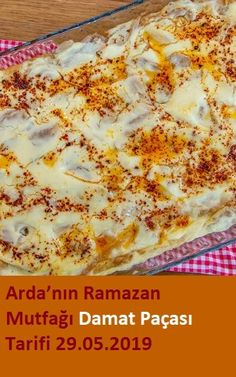 Damat Paçası Tarifi – Kolay yemekler – The Most Practical and Easy Recipes Ramadan, Turkish Kitchen, Fitness Tattoos, Turkish Recipes, Homemade Beauty Products, Pasta, Easy Cooking, Food And Drink, Health Fitness