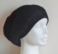 Black Wool Hat for Women Teens or Men Beanie Hat by earflaphats, $39.99
