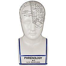 Buy John Lewis Phrenology Head Large Online at johnlewis.com