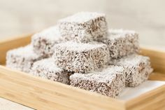 Happy National Lamington Day! Try this awesome and easy Thermomix Lamingtons Recipe. Go on.