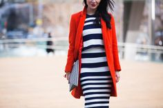 Streetlooks à la Fashion Week automne-hiver 2014-2015 de New York #streetstyle #nyfw