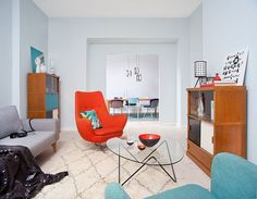 Vintage Loft by Berliner Dependance with a fab chair. #interiordesign
