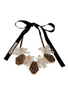 MARNI multi pendant necklace - on Vein - getvein.com