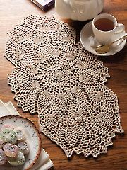 Crochet Prizeworthy Pinele Doily Kit 500318 Supplies Tools