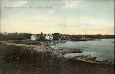 Port Latour La Tour NS Nova Scotia c1910 Postcard