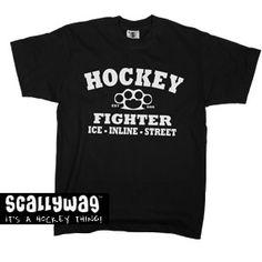 HOCKEY FIGHTER  http://www.scallywaghockey.com