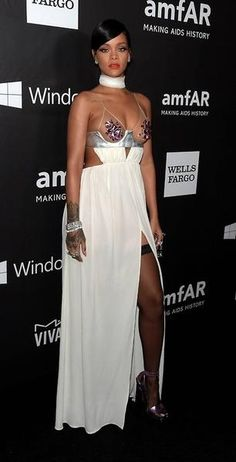 rihanna 39 s most iconic looks of all time. Black Bedroom Furniture Sets. Home Design Ideas