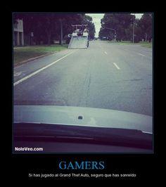 Gammers, si has jugado al GTA seguro que has sonreído XD