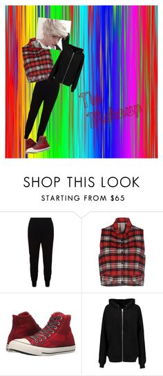 """""""April 1st, Monthaversary"""" by nerdytheterdy ❤ liked on Polyvore featuring STELLA McCARTNEY, (+) PEOPLE, Converse and BLK DNM"""