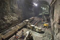壮大な地下世界:NY地下鉄工事のギャラリー « WIRED.jp