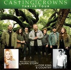 Casting Crowns Thrive Tour 2014