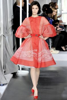 Christian Dior Spring 2012 Couture Fashion Show - Sui He (OUI)