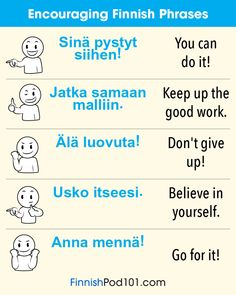 """finnishpod101: """"💬 Want to become fluent in Finnish? Try FinnishPod101 for FREE!!! """""""