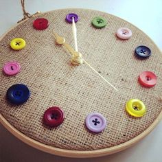 Clock for my sewing room