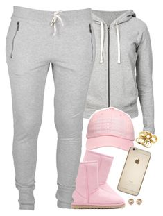 featuring James Perse, October's Very Own, UGG Australia, Michael Kors, Swag Outfits For Girls, Cute Lazy Outfits, Cute Swag Outfits, Teenage Girl Outfits, Chill Outfits, Teen Fashion Outfits, Teenager Outfits, Dope Outfits, Trendy Outfits