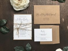 Rustic Modern Laser Cut Wedding Invitation Set / Rustic Elegant Wedding Invite with Doily and Twine Antler Wedding, Wedding Decor, Rustic Wedding, Chic Wedding, Floral Wedding, Lace Wedding, Wedding Ideas, Elegant Wedding Invitations, Rustic Modern