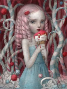 "Nicoletta Ceccoli Prints | Nicoletta Ceccoli | ""Eye Candy"" Exhibition 2012"