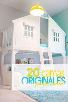 20 camas originales para la habitación de los niños