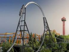 Crazy Roller coasters. I want to do them all. 🎢