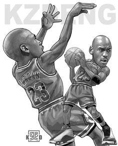 Great design of KEVIN DENG :  http://kzdeng.com/kzdtee #MichaelJordan