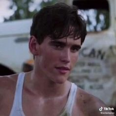 The Outsiders Cast, The Outsiders Imagines, Cute Celebrity Guys, Cute Celebrities, Really Hot Guys, Cute Guys, Young Matt Dillon, Ricky Dillon, Matt Dillon The Outsiders