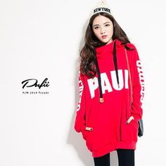 Buy 'PUFII – Lettering Hooded Long Pullover' with Free International Shipping at YesStyle.com. Browse and shop for thousands of Asian fashion items from Taiwan and more!