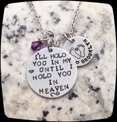 Miscarriage Gift,  Angel Baby, Mommy of an angel, Loss of a child, Miscarriage, Sympathy gift, Memorial gift,  Mommy jewelry