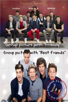 How you take pictures with friends and how you take picutres with your BEST friends!!!