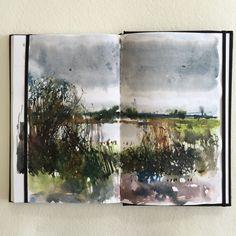 david parfitt palette at DuckDuckGo Landscape Drawings, Abstract Landscape, Landscape Paintings, Watercolor Journal, Watercolor Sketch, Gcse Art Sketchbook, Sketching, Artist Journal, Sketchbook Inspiration